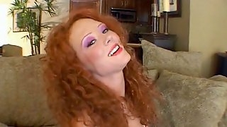 Redhead Porn Beauty Audrey Hollander Receives Hot Cum In The Mouth