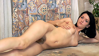 Beautiful stripping and playing with Lara D - Compilation - WeAreHairy