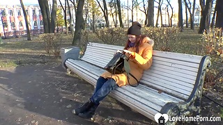 Russian pulchritude student so lonely this autumn